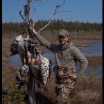 Манок на белолобого гуся Школа охоты