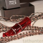 Манок на белолобого гуся Школа охоты Hunter (red)