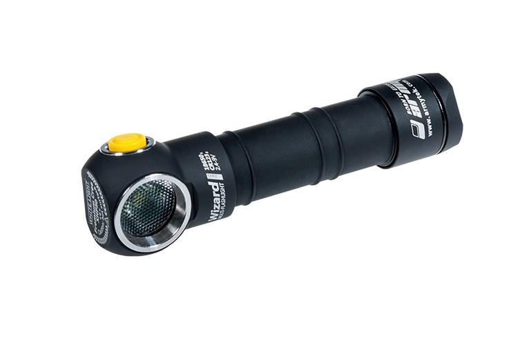 Налобный фонарь Armytek Wizard Pro v3 на белом диоде XHP50